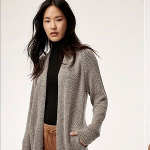 Aritzia Community Vetus Sweater Open Cardigan
